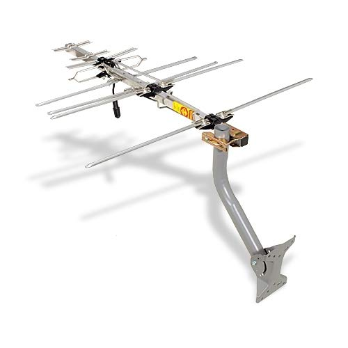 TV Antenna - RCA Outdoor Yagi Satellite HD Antenna with Over 70 Mile Range - Attic or Roof Mount TV...