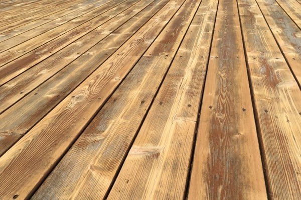 Deck Ready to be Finished