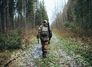 How to Camouflage Yourself in the Woods