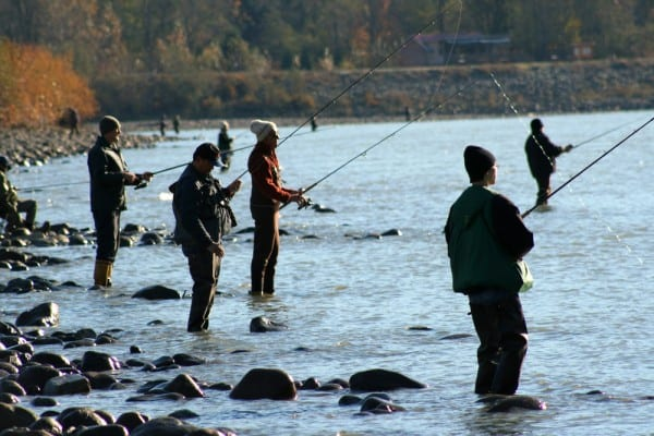 Enjoy the Social Aspect of Fishing Trout