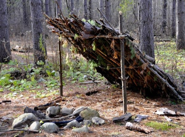 How to Build the Lean-To Shelter