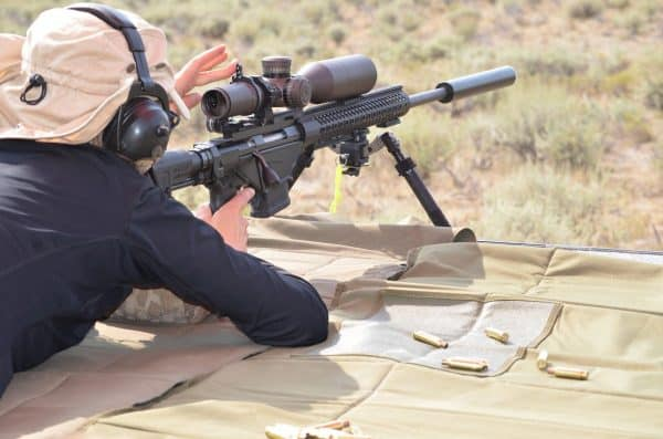 Shooting With a 308 Scope