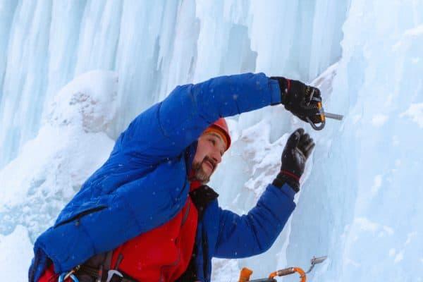 Ice Screw Belay