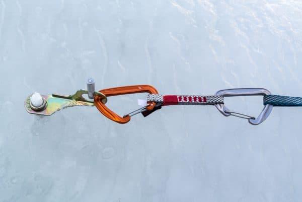 Racked Ice Screw