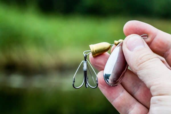 Spinning Lure For Trout Fishing After Rain