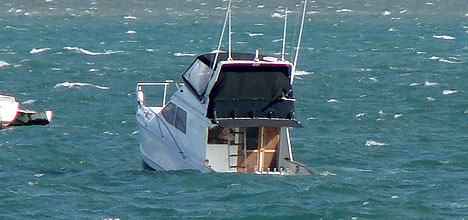 What Is The Major Danger Of Anchoring A Fishing Boat From The Stern