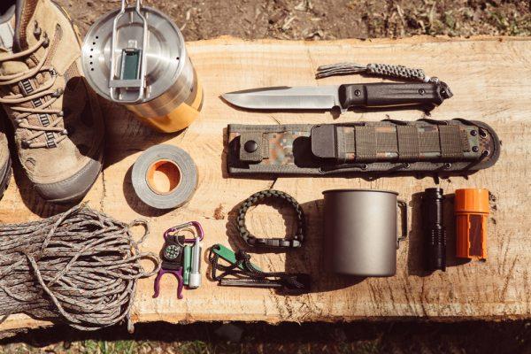 Combat Backpack Survival Set