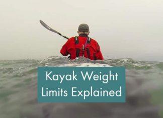 Kayak weight limits explained