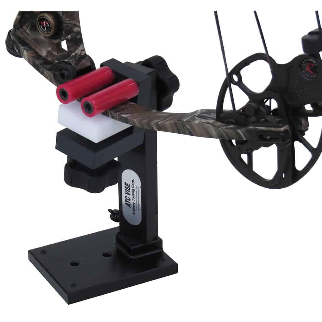 Compound bow maintenance vise