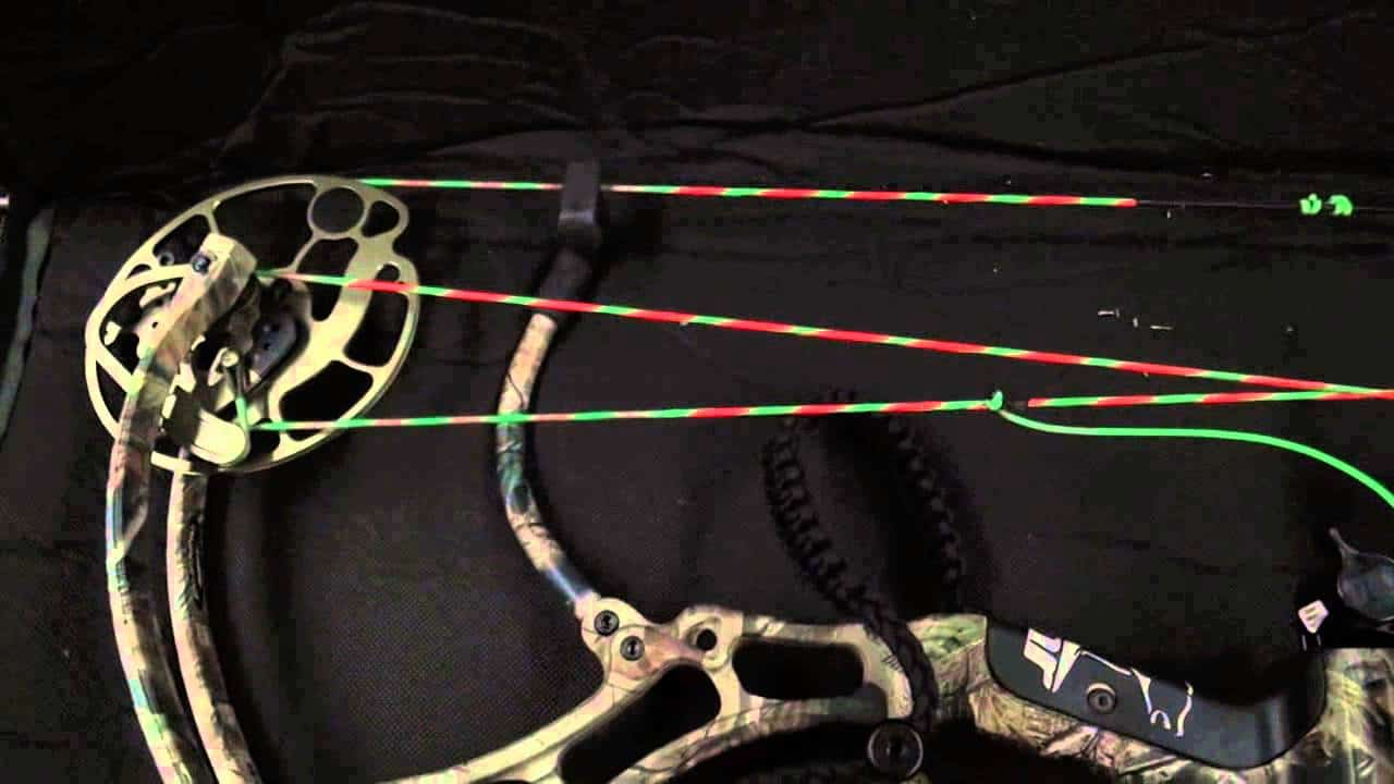 compound bow string